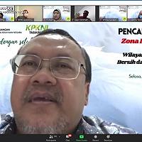 Pencanangan ZI Menuju WBBM KPKNL Tasikmalaya, Sesditjen KN: Korupsi Merusak Organisasi