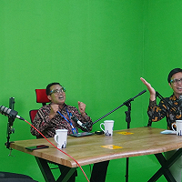 KPKNL Pontianak dan Kanwil DJKN Kalbar Sosialisasikan Program Keringanan Utang lewat Podcast BDK Pontianak
