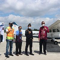 Kanwil DJKN RSK Serah Terimakan Pesawat Cessna ke Kementerian Perhubungan