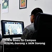 DJKN Goes To IAIN Sorong, KPKNL Sorong Sampaikan Pentingnya Pengelolaan Kekayaan Negara