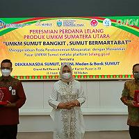 Sinergi Antar Instansi, Dekranasda Sumut Apresiasi Program Kedai Lelang UMKM KPKNL Medan
