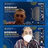 Bersinergi Dengan IBI, Kanwil DJKN Aceh Gelar Webinar Penguatan Integritas
