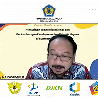 DJKN Sumut Paparkan Peran dalam PEN pada KonPers Perwakilan Kemenkeu Sumut