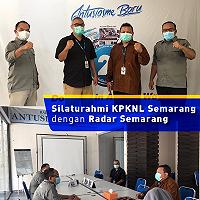 Perluas Publikasi, KPKNL Semarang Kunjungi Radar Semarang dan Trax-FM